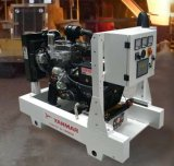 Yanmarの電気発電機5-48kw 6-60kVAのスタンバイの防音の無声発電機
