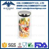 Ar Cutomized Prova de vidro borossilicato de alta o canister para armazenamento de alimentos