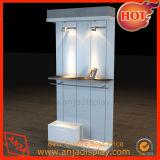 Mostrar ropa tienda de muebles sistema góndola con estanterias