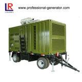 ディーゼル発電機、構築機械装置のための発電機の/Trailerの移動式発電機