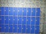 3 die de Kast van de Garderobe van deuren van ABS wordt gemaakt
