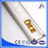 Profil en aluminium pour bande LED/d'éclairage Extrusion de profilés en aluminium