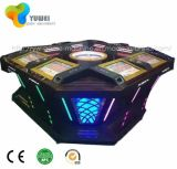 8 assentos Automated Play Casino Game Supplies Equipment Máquina eletrônica de roleta de vídeo