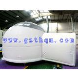 거대한 팽창식 옥외 야영 천막, 방수 청결한 돔 팽창식 거품 천막, 좋은 품질 공기 돔 천막