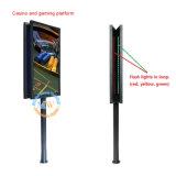 Monitor de la pantalla LCD del soporte del piso de 70 pulgadas que hace publicidad del monitor (MW-701MY)