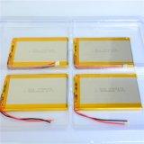 Lipo batería de litio polímero de litio de 3,7 V Li-Polymer batería 4000mAh para el helicóptero de teléfono SmartWatch auriculares