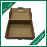광택 있는 골판지 구두 상자
