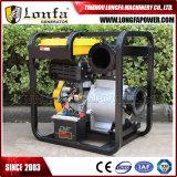 irrigación agrícola del comienzo eléctrico del motor de 192f 15HP bomba de agua diesel de 6 pulgadas