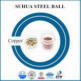 bola de metal redonda de la bola de cobre preciosa de 1m m