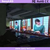 Etapa de alquiler de pantalla LED Full HD para publicidad audiovisual.