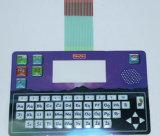 Переключатель мембраны водоустойчивого PC SGS резиновый с прилипателем 3m, 25mA - 100mA