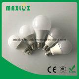 Lampadina 9W di vendita A19/A60 LED della fabbrica con la garanzia 2years