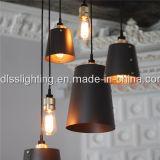 Lámpara pendiente del metal de la iluminación de la suspensión de los diseños simples