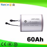 11.1V Batterij van het Lithium van de Cyclus van de Opslag van de energie 60ah de Zonne Lichte Diepe
