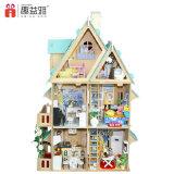 多機能のおかしい教育木の人形の家