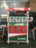 Station d'essence Zcheng Distributeur de carburant Deux buses avec LED