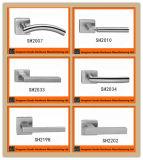 Handvat van de Deur van de Dekking van het Roestvrij staal PVD het Vierkante Gespleten