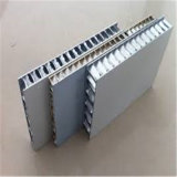 Revêtement de paroi extérieur Panneau composite à base de nid d'abeille en aluminium ignifuge, panneaux acoustiques (HR247)