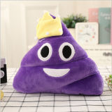 Подушка Emoji Poop плюша хлопка конструкции сердца влюбленности