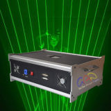 A nebulosa 4W escolhe o sistema verde da mostra do homem do laser