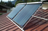 Géiser solar a presión del tubo de calor con Keymark solar