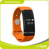 心拍数のモニタの歩数計のスリープの状態であるモニタIP-X5はBluetoothの腕時計を防水する