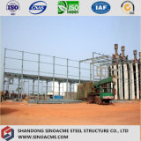 Gruppo di lavoro industriale garantito su grande scala prefabbricato della struttura d'acciaio
