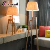 Éclairage debout de lampe d'étage de trépied chaud de produit pour la chambre à coucher