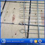 cerca doble cubierta y galvanizada del PVC de 868m m, de 565m m del bucle del alambre del jardín para con el precio de fábrica