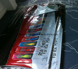 인쇄하는 옥외 관례 광고 비닐 PVC 기치 (SS-VB85)
