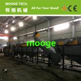 PP HDPE PE LDPE Planta de paja película de plástico planta de lavado / línea / máquina