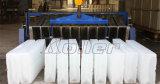 Espaço que conserva máquina Containerized do bloco de gelo de 10 toneladas/dia