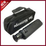 Faser-Optikaluminiumkarosserien-Mikroskop der Vergrößerungs-400X