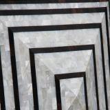 Mosaico nacarado del diseño de lujo para la pared