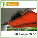 Réchauffeur à panneau infrarouge électrique pour usage intérieur extérieur