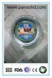 70ミクロンは円形食品等級のためのアルミホイルの容器を取り除く