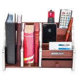 Suporte de madeira e Rack de arquivos para armazenamento de Escritório