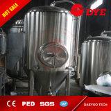 el tanque cónico vestido de enfriamiento de Microbrewery de la fermentadora de la cerveza del acero inoxidable 1000L