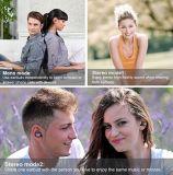 Sport véritable Tws sans fil Earbuds avec le traqueur de fréquence cardiaque et d'activité - connexion sans fil avancée et cas de remplissage (OG-BT973)