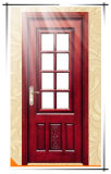 ガラス、高品質が付いている内部の木のドア