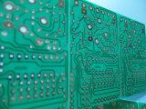 緑のSoldermaskのPCB回路の単一の側板Fr4