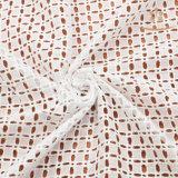 Água de Beautful da forma H10007 - laço solúvel da tela do Webbing de Embroidry para o pano