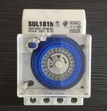 Temporizzatore meccanico 24 ore di 15mins programmabile quotidiano che imposta l'interruttore meccanico del temporizzatore