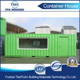 Дом контейнера Eco самого высокого уровня содружественная полуфабрикат в модульном проектировании