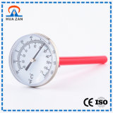Portatile meccanico in acciaio inox ad alta temperatura Manometro