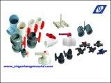 Conexão de tubos de PVC com molde de anel de borracha