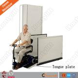 Подъем кресло-коляскы сбывания фабрики гидровлический вертикальный для инвалид