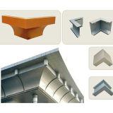 Панель сложной гиперболичной конструкции алюминиевая для фасада стены