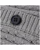 Phoebee tejer lana y tejidos de punto Chaqueta de invierno para niñas
