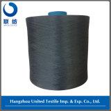 Azul 100% de marina teñido droga del hilado del poliester que teje DTY (150D/48F NIM)